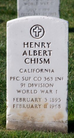 Henry Albert Chism