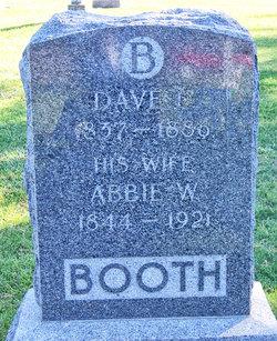 "Abigail W ""Abbie"" <I>Pierce</I> Booth"
