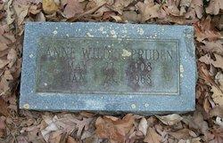 Anne <I>Wilder</I> Pruden