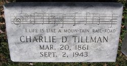 "Charles Davis ""Charlie"" Tillman"