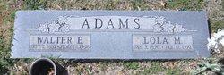 Lola Marie <I>Taylor</I> Adams