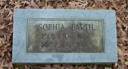 Sophia <I>Burrow</I> Barth