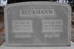 Henry W Beckman