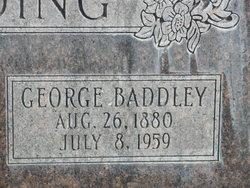George Baddley Standing