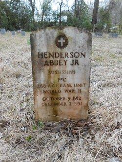 Henderson Abbey Jr.