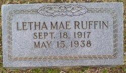 Letha Mae Ruffin