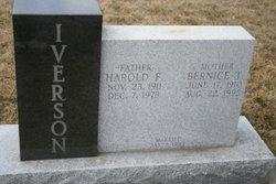 Bernice T <I>Hausken</I> Iverson