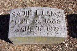 Sadie Lulu <I>Sonen</I> Lance