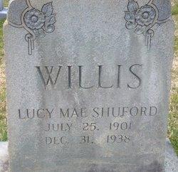 Lucy Mae <I>Willis</I> Shuford