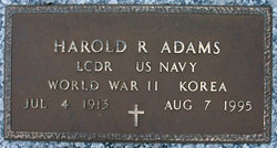 "Harold Raymond ""Duke"" Adams"