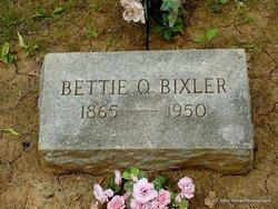 Betty <I>Quisenberry</I> Bixler