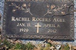 Rachel <I>Rogers</I> Agee