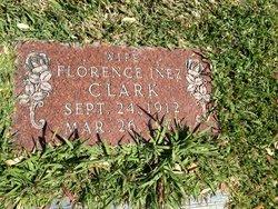 Florence Inez <I>Warden</I> Clark