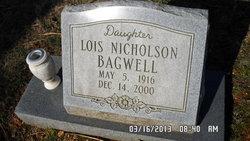 Lois Evelyn <I>Nicholson</I> Bagwell