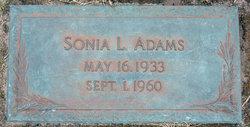 Sonia Lee Adams