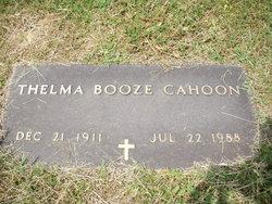 Thelma Booze Cahoon
