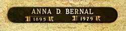 Anna <I>Deutsch</I> Bernal