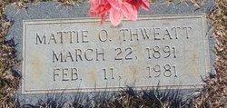 Mattie O Thweatt