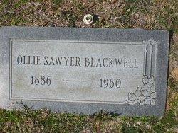 Ollie <I>Sawyer</I> Blackwell
