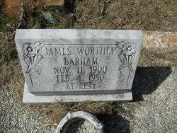 James Worthy Barham