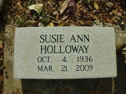 Susie Ann <I>Royer</I> Holloway