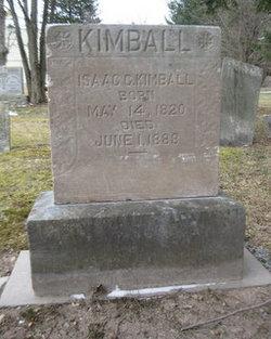 Isaac C Kimball