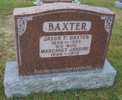 Margaret <I>Jardine</I> Baxter