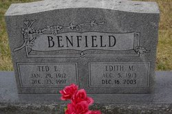 Edith <I>Farthing</I> Benfield