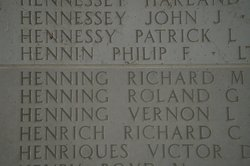 1Lt Richard C Henrich