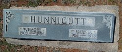 Mary Barnes <I>Yancey</I> Hunnicutt