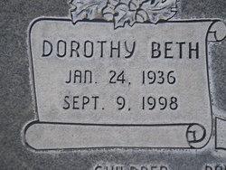 Dorothy Beth <I>Hopkins</I> Ames