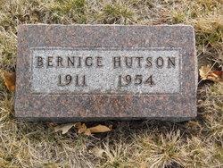 Mary Bernice <I>Holden</I> Hutson