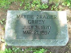 Mattie <I>Frazier</I> Griffy