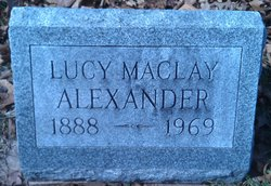 Lucy Maclay Alexander