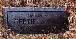 Gertie Allen