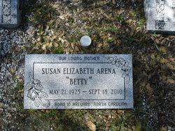 "Susan Elizabeth ""Betty"" <I>Orr</I> Arena"