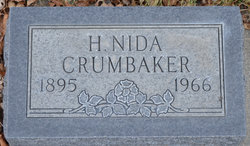 Harriet Nida <I>Harris</I> Crumbaker