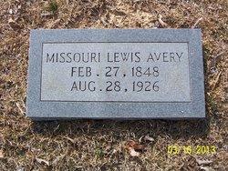 Missouri <I>Lewis</I> Avery