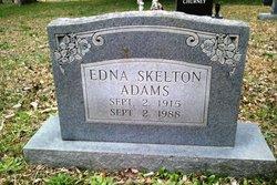 Edna <I>Skelton</I> Adams