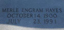 Merle <I>Engram</I> Hayes