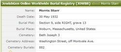 Morris Starr