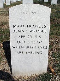 Mary Frances <I>Denny</I> Wrobel