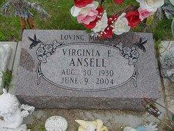 Virginia Elaine <I>Cripps</I> Ansell