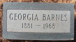 Georgia Roberta <I>Carman</I> Barnes