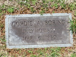 Cordie A. <I>Myers</I> Boring