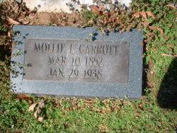 Mollie E <I>Morgan</I> Garrott
