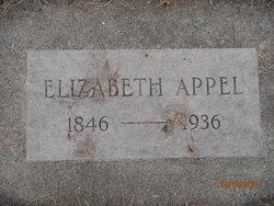 Elizabeth Katherina <I>Kraft</I> Appel