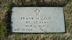 Frank H Geer