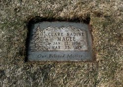 Clare Nadine <I>Lefler</I> Magee