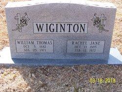 Rachel Jane <I>Avery</I> Wiginton